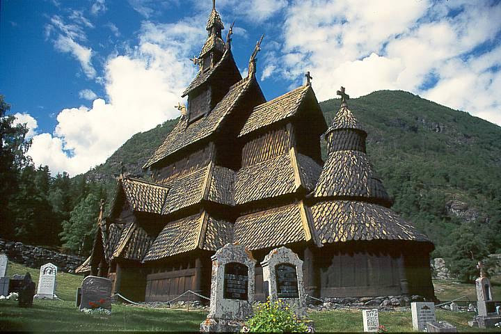 Iglesia de Borgund Stave, Noruega