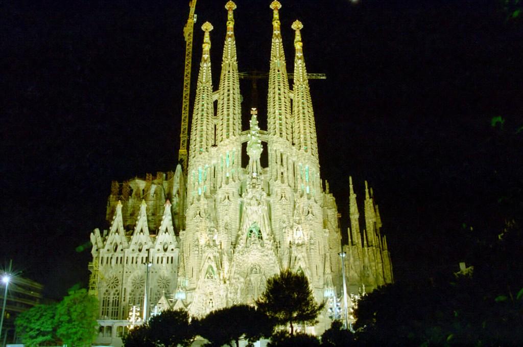 Templo de la Sagrada Familia, España iglesias más hermosas del mundo