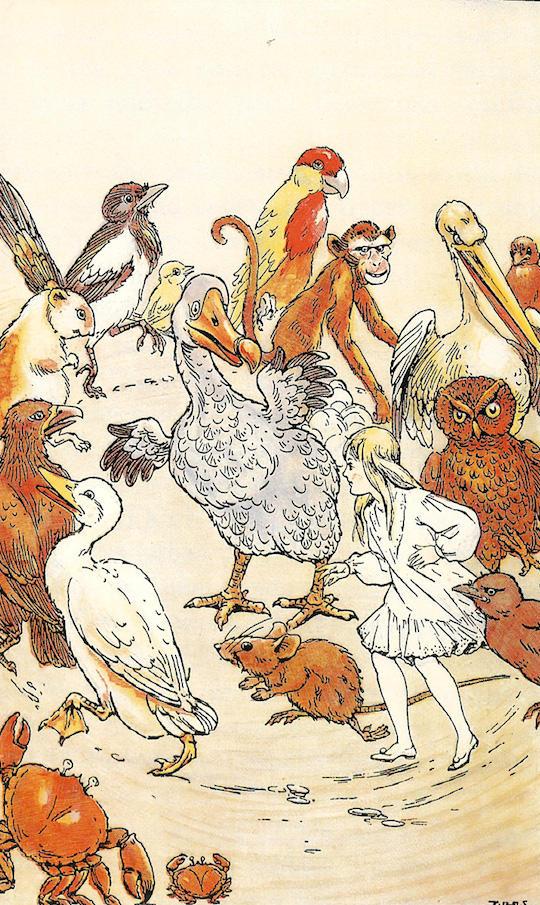 32 versiones ilustradas de Alicia en el País de las Maravillas - Arte