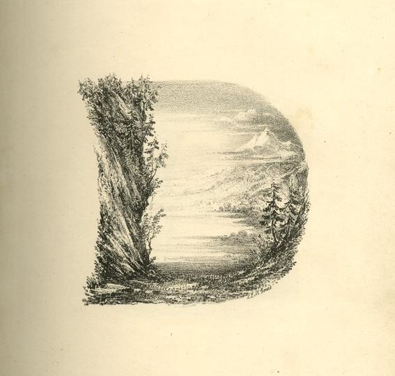 Charles Joseph Hullmandel , el alfabeto hecho paisaje - Arte