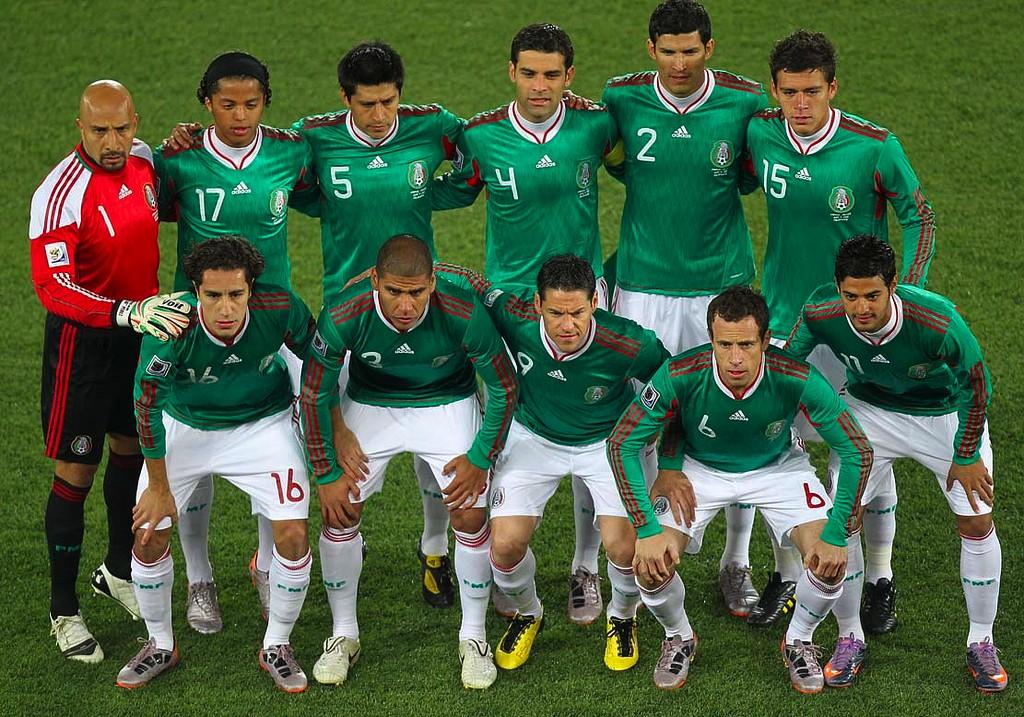 d15bd500861cc La camiseta de México en los Mundiales - Historia - Historia