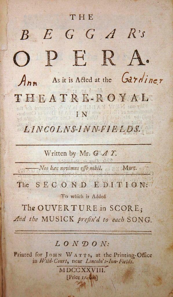 from Nikolas 1728 opera by john gay
