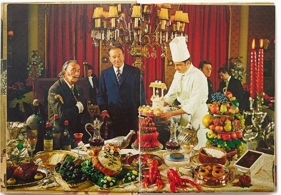 el libro de cocina de dali