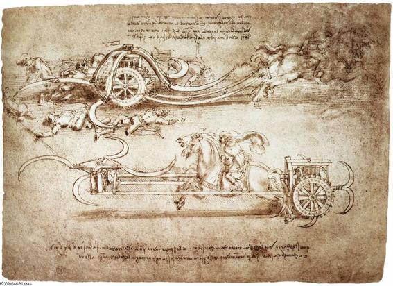 Leonardo-Da-Vinci-Assault-chariot-with-scythes-2-