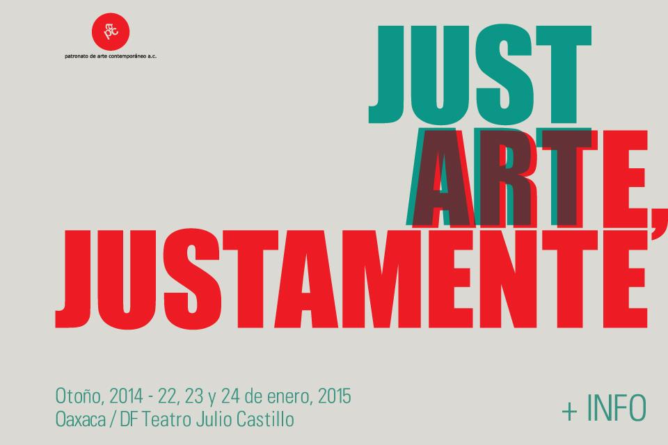 Arte, Justamente   Just Art : SITAC XII