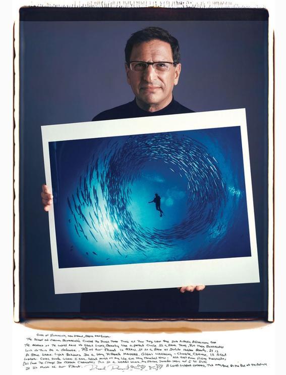 David Doubilet – Circle Of Barracuda