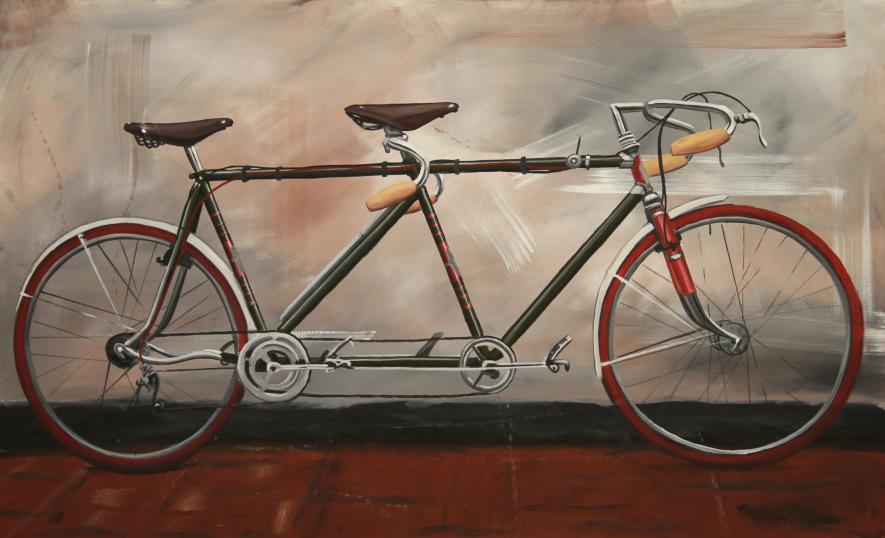 La bicicleta en pintura