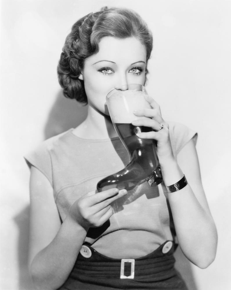 Woman-Beer-Boot