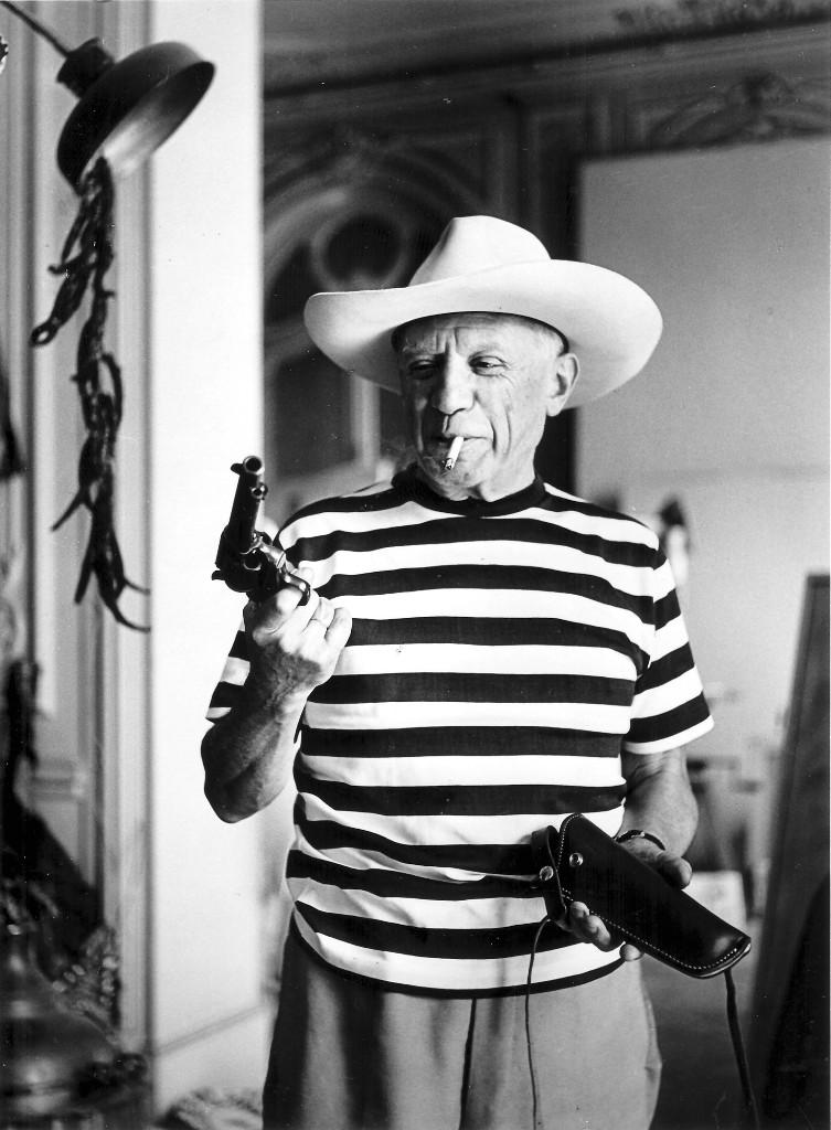 Pablo Picasso blanco y negro