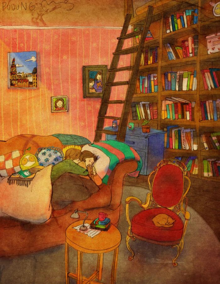 sweet-couple-love-illustrations-art-puuung-15__700