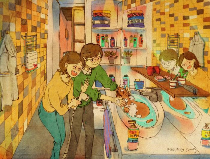 sweet-couple-love-illustrations-art-puuung-21__700