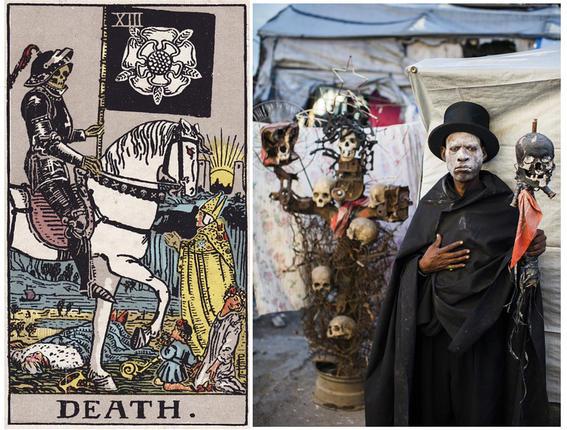 tarot haiti- ghettos de Haití