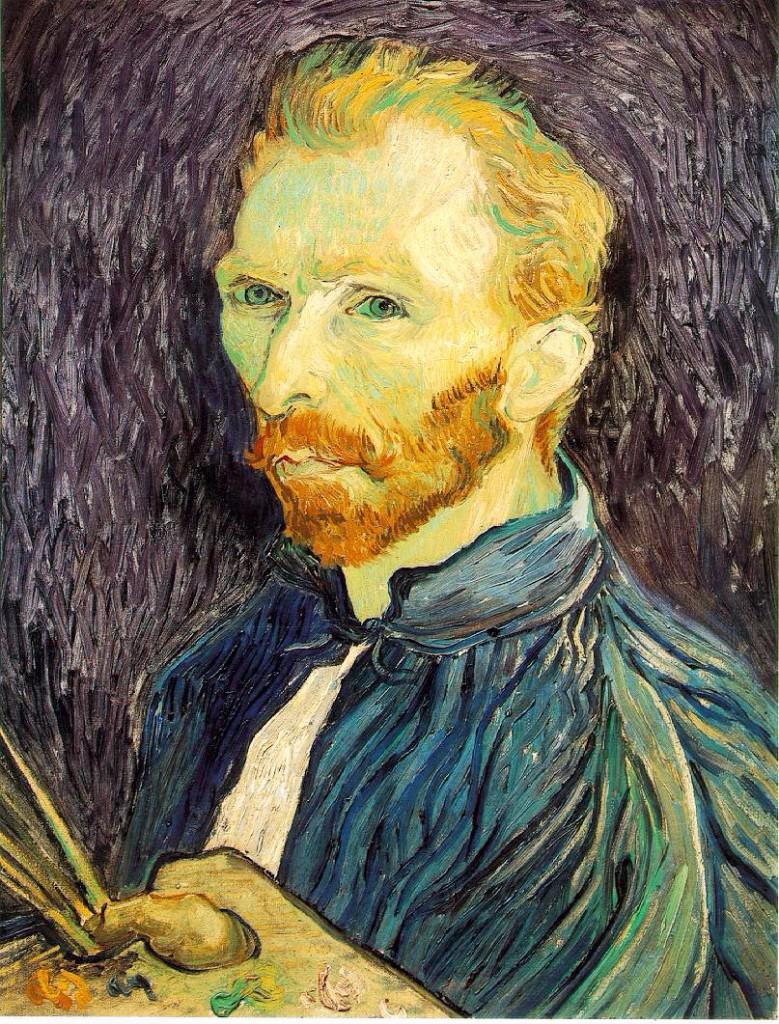 Un auto retrato que pintó durante su estancia en Saint- Jean