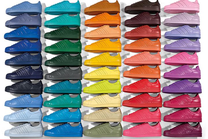 Zapatillas Adidas Superstar De Colores