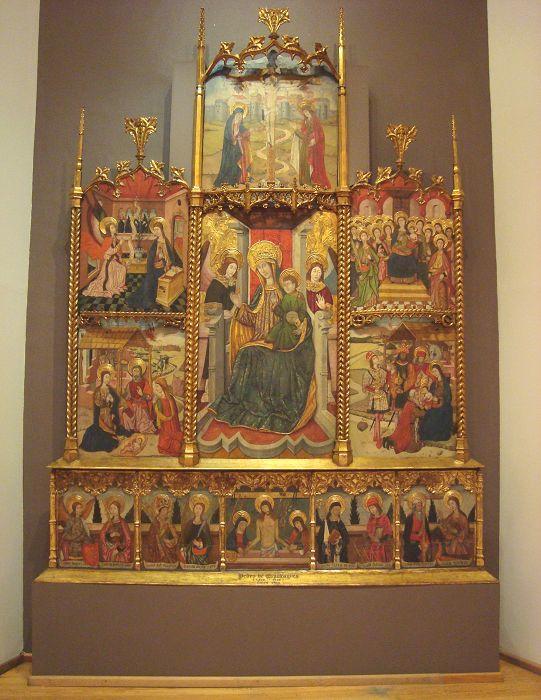 Museo Nacional de San Carlos retablo