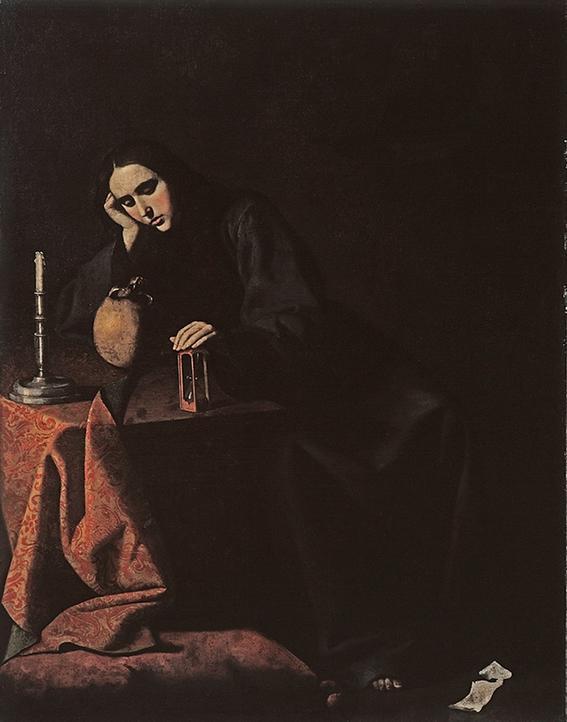 5862 La magdalena penitente
