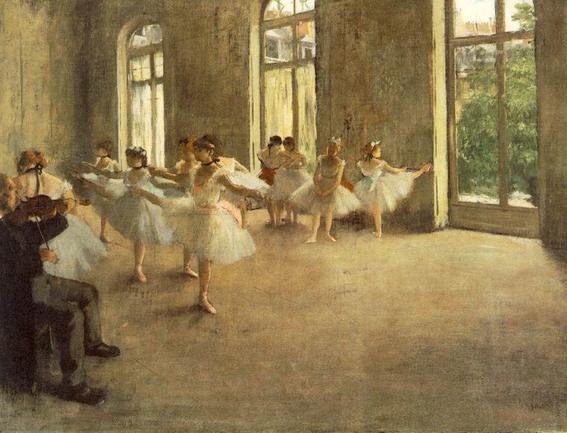 belleza de la danza