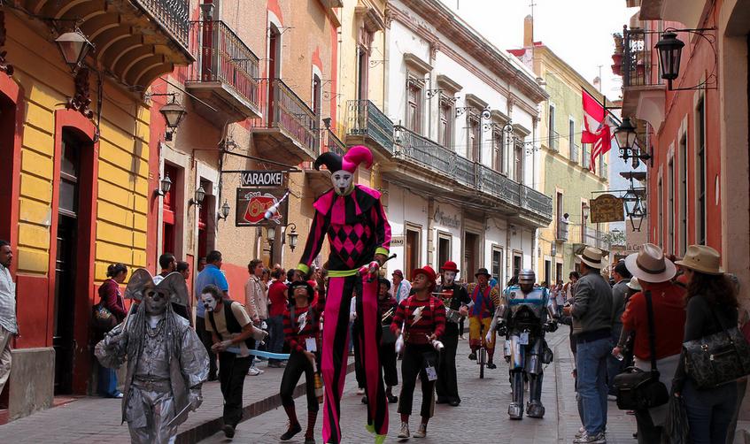visitar cervantino en mexico