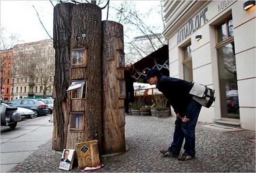 Bookcrossing aire libre