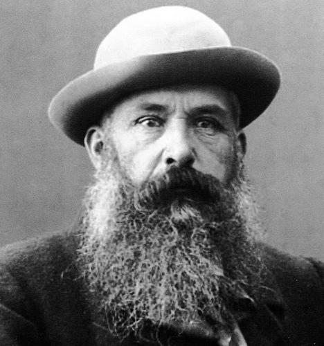 Video de 1915 muestra a Monet pintando en su jardín