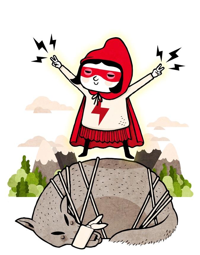 David Ibanez Bordallo ONU dibujos animados dibujos por la Igualdad de género