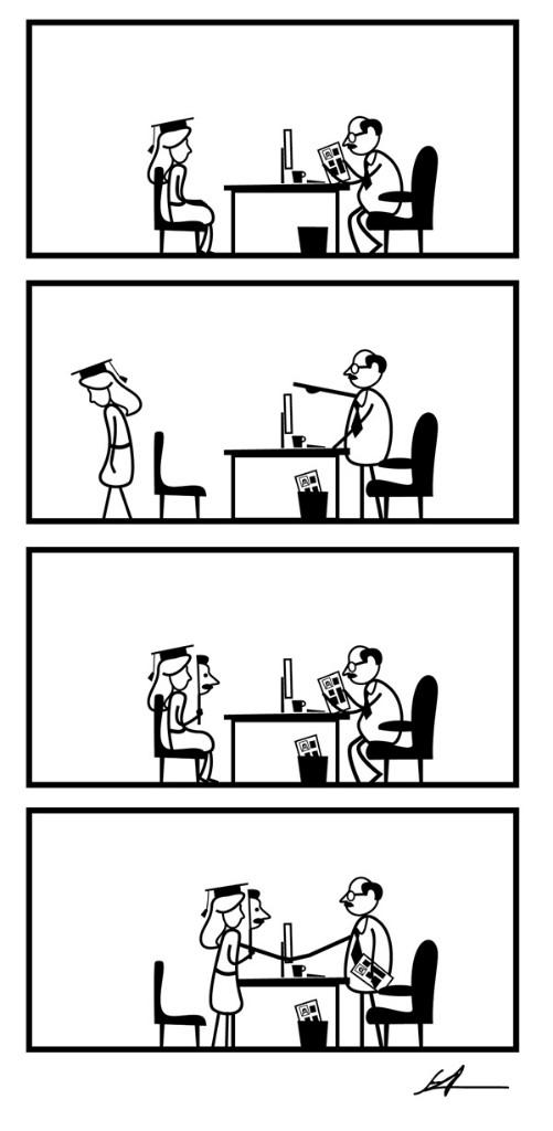 Efectos de la desigualdad ONU dibujos por la Igualdad de género