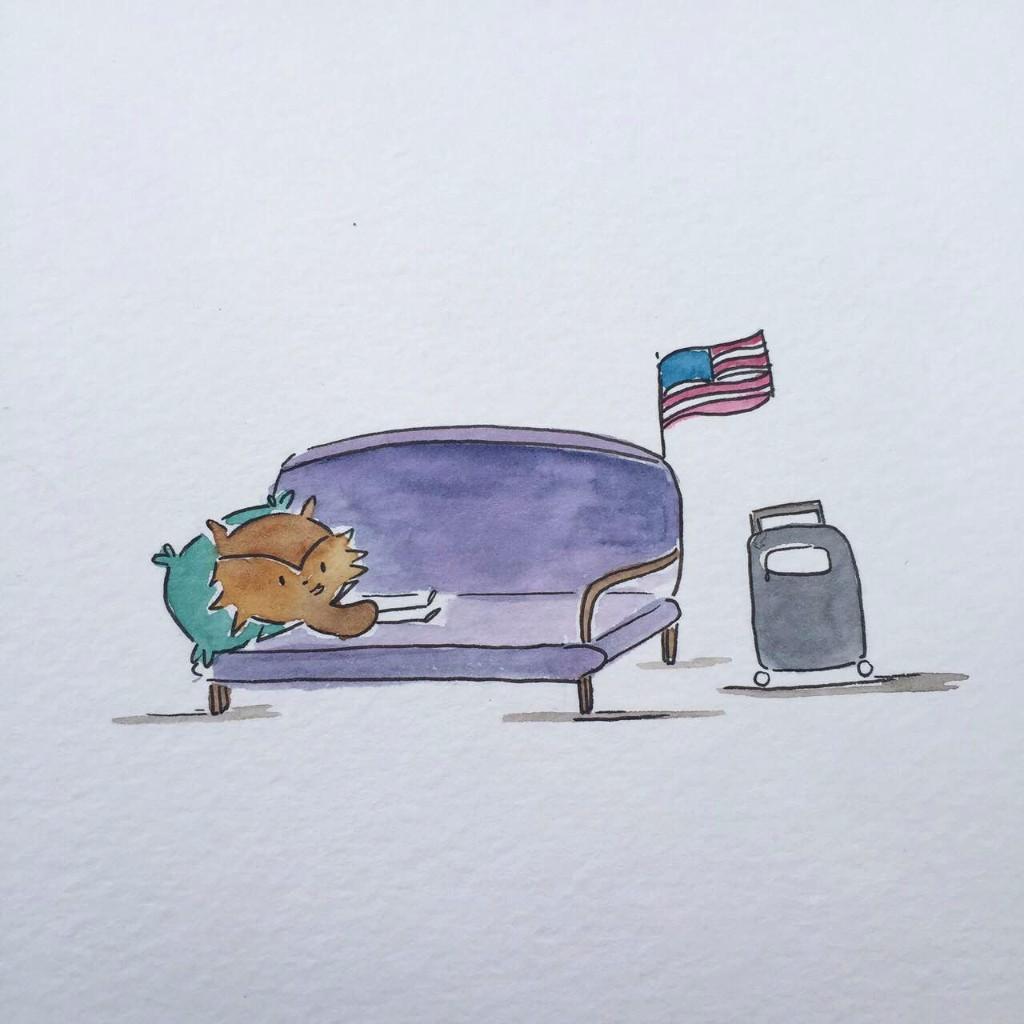 30 dibujos, 30 días: julio es de Polly Short Stories