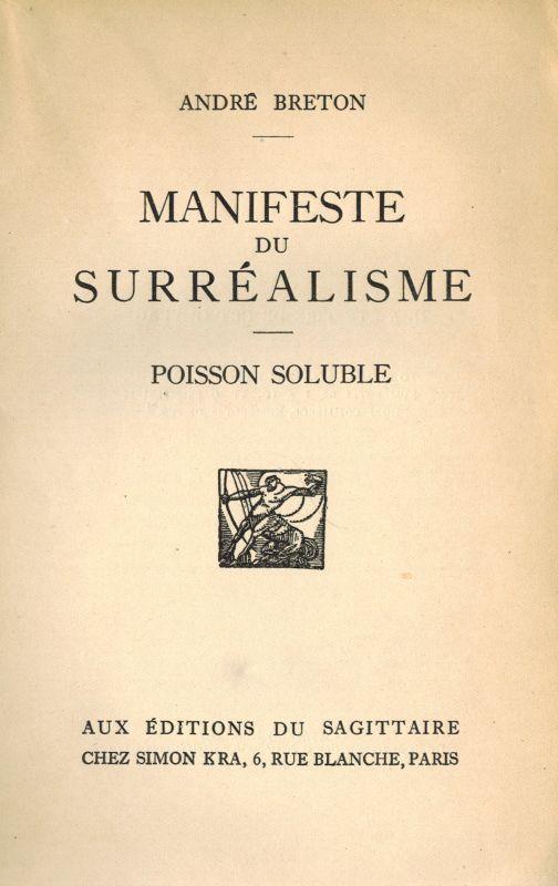Manifiesto surrealista