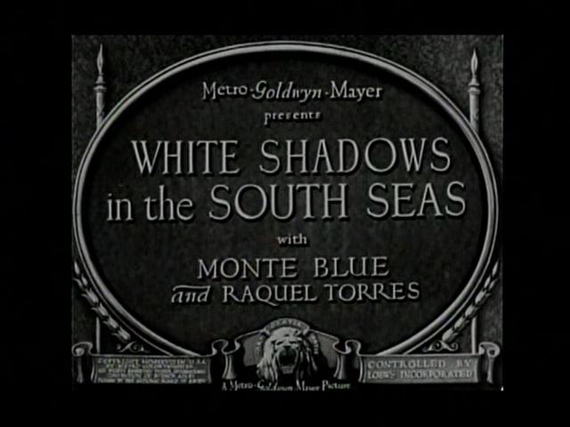 Peliculas favoritas Luis Buñuel white shadows
