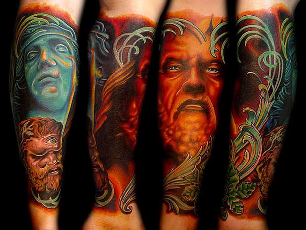 Los Tatuadores Más Caros Del Mundo Diseño Diseño