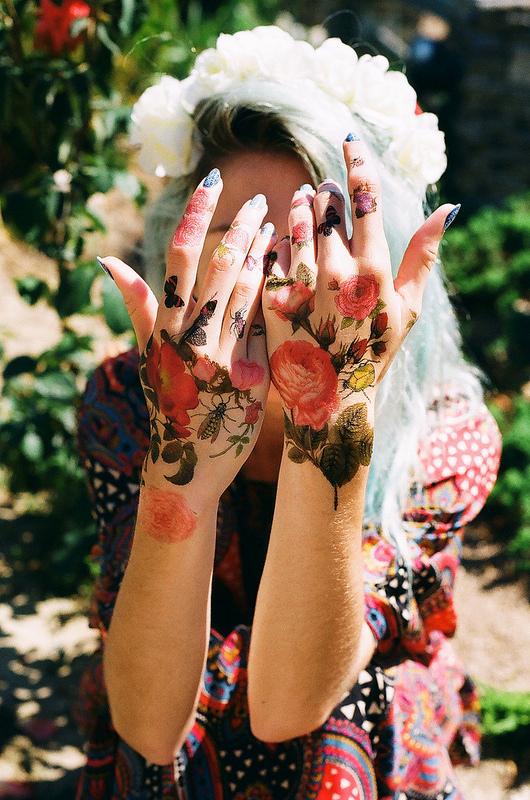 Tatuaje-de-flores