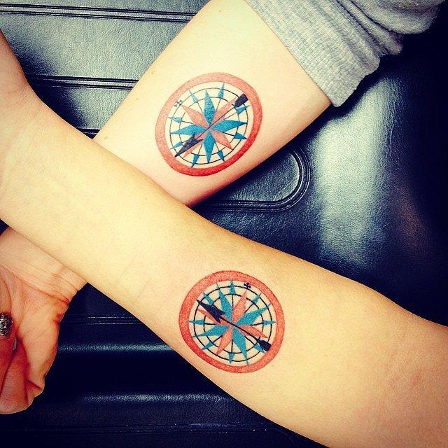 brujula-tatuaje