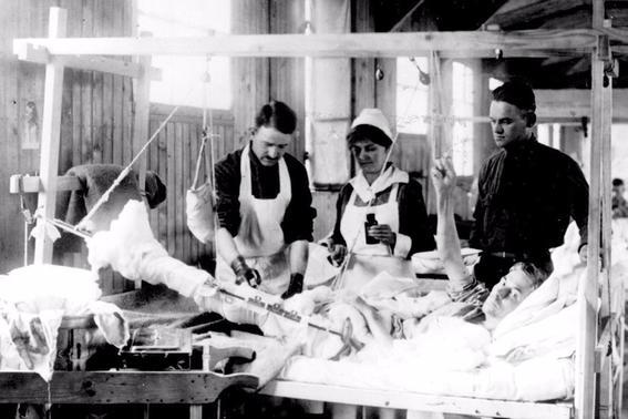 cirugia primera guerra mundial