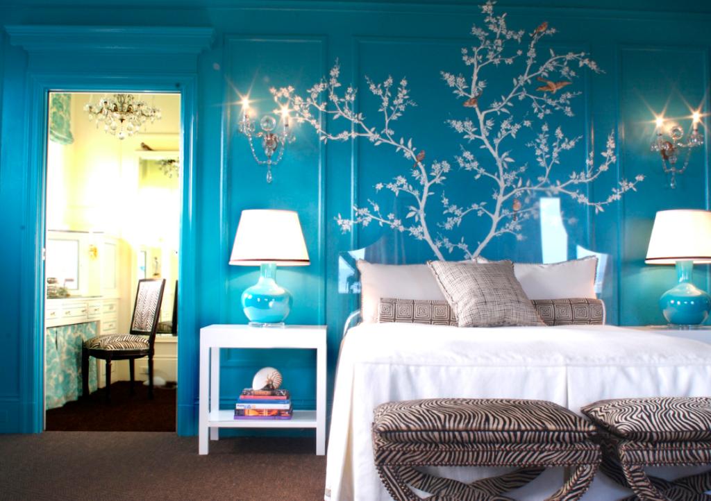 cuarto azul