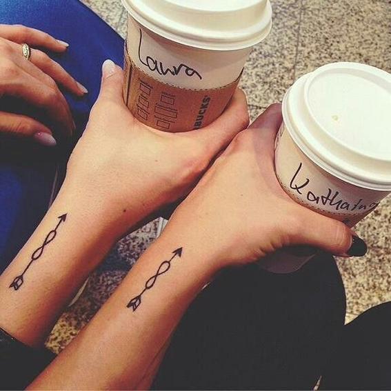 Tatuajes Para Amigas Con Significado tatuajes para hacerte con tu mejor amiga - diseño