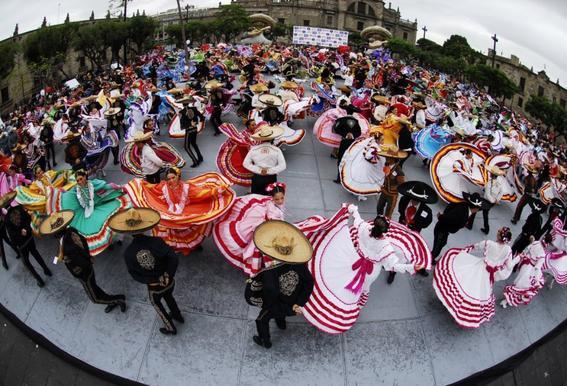 Guadalajara dancers