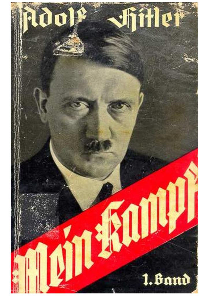 libro adolf hitler