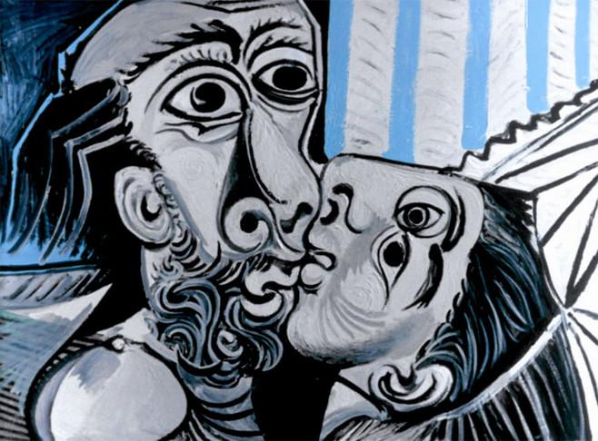 Pablo picasso el beso