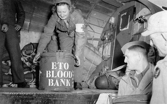 primera guerra mundial transfusion de sangre