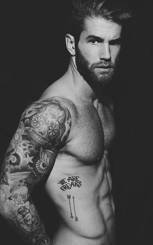 Vintage Tattoos man