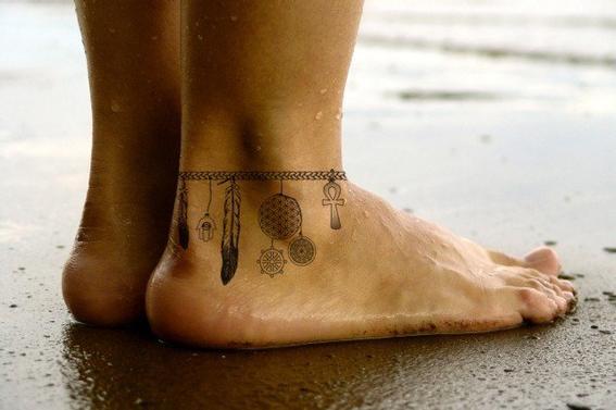 tatuajes en el tobillo 10
