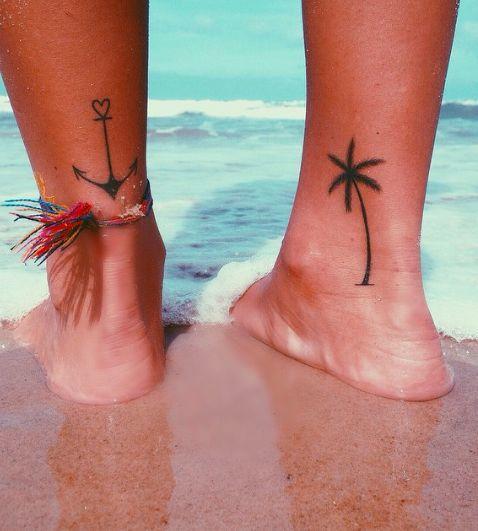 tatuajes en el tobillo 7