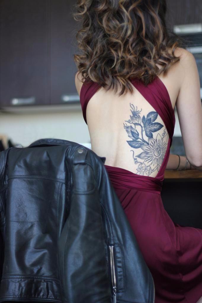 vintage tattoos dress
