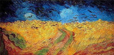 Campo de trigo con cuervos - 1890