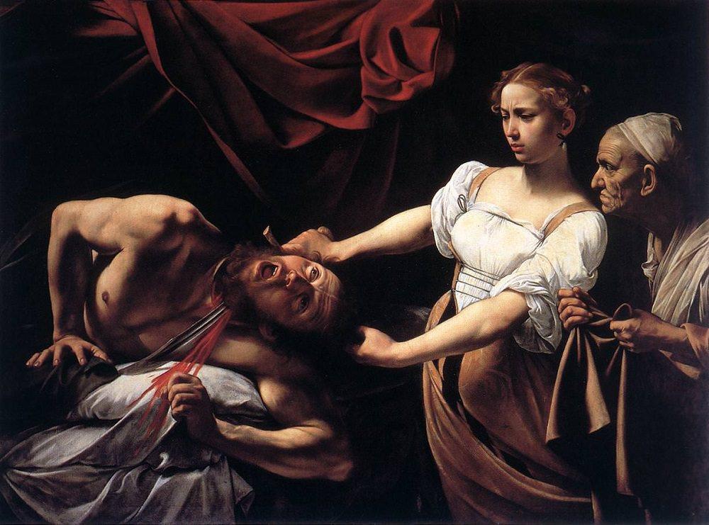 Caravaggio Judith holofernes