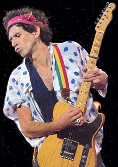 Fender telecaster de Keith Richards