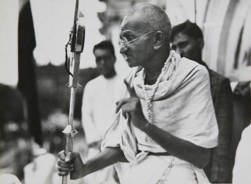 Mahatma Gandhi; Mohandas Gandhi