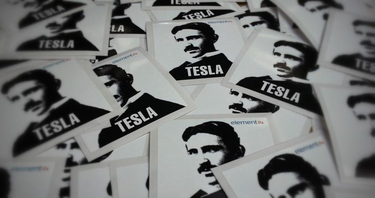 Tesla Stickers