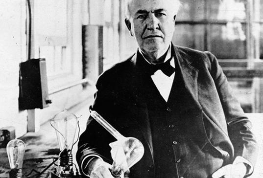Thomas Edison Cultura Colectiva