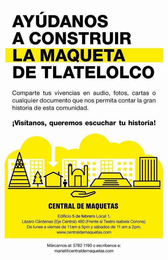 Tlatelolco 1:500